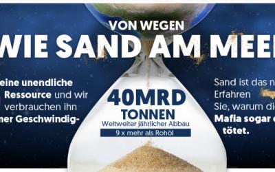 """Von wegen """"Wie Sand am Meer"""""""